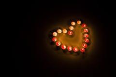 心脏形状 免版税图库摄影