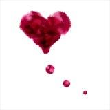 心脏想法 库存图片