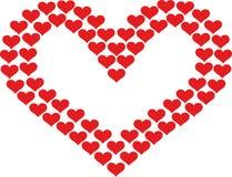 心脏构筑与心脏 向量例证