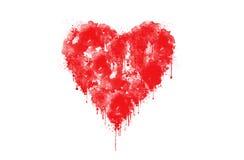 心脏标志 免版税库存图片