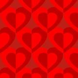 心脏样式传染媒介设计 免版税图库摄影