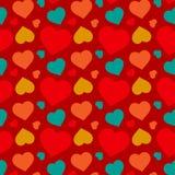 心脏样式设计 免版税库存图片