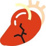 心脏病发作 免版税库存照片