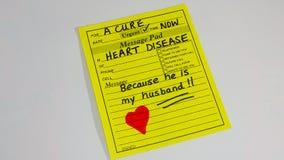 心脏病和心脏病发作 库存图片