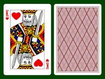 心脏的国王 库存例证