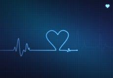 心脏监护器 库存图片