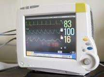 心脏监护器 免版税图库摄影