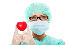 心脏科医师 库存照片