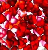 心脏糖果墙纸 库存图片