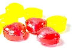 心脏糖果 库存照片