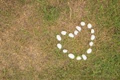 心脏纹理的石设计 免版税图库摄影