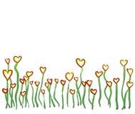 心脏草甸 向量例证