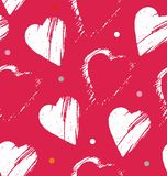 心脏被形成的冲程 免版税库存照片