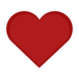 心脏象传染媒介 库存照片