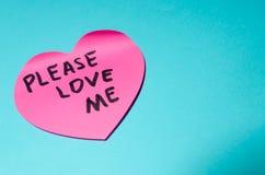 心脏贴纸背景 图库摄影