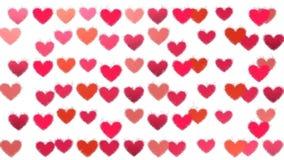 心脏,情人节,动画 股票录像