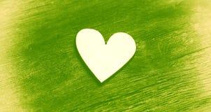 心脏-爱和浪漫史的标志 库存照片