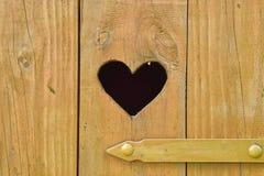 心脏细节在洗手间的 库存图片