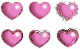 心脏 设计 免版税库存照片