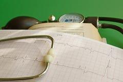 心血管系统的疾病诊断  库存图片