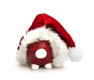 贪心银行的圣诞节 免版税库存图片