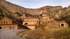 志夫Mgvime修道院(乔治亚) 免版税库存照片