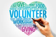 志愿者 免版税库存照片