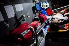志愿EMTs 库存照片