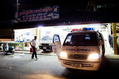 志愿EMTs 免版税库存图片