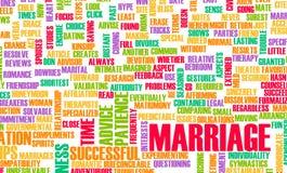 忠告婚姻 免版税库存照片
