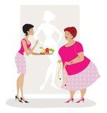 忠告饮食 免版税库存图片