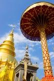 忠实的stupa泰国 图库摄影