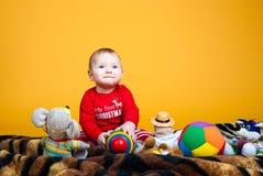 快乐儿童微笑 免版税库存照片