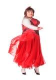 快乐的人,扮装皇后,一个女性诉讼的 免版税库存照片
