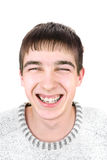 快乐的人年轻人 免版税库存照片