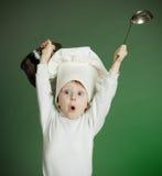 快乐的厨师 库存照片