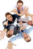 快乐的合作伙伴 免版税图库摄影