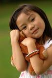 快乐的女孩 免版税图库摄影