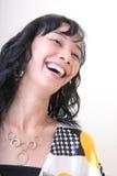 快乐的女孩 免版税库存照片