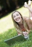 快乐的女性 免版税库存图片