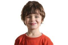 快乐的孩子纵向 免版税图库摄影