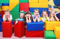 快乐的孩子 免版税库存照片