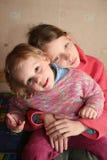 快乐的孩子 库存照片