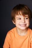 快乐的男孩 免版税图库摄影