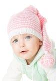 快乐的婴孩六个月 免版税库存照片