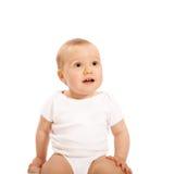 快乐的婴孩 图库摄影