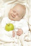 快乐的婴孩 免版税库存图片