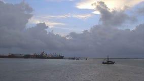 快动作云层射击,科纳克里,几内亚 影视素材