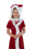 快活的圣诞老人 库存图片