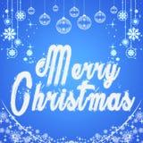 快活的圣诞节 与雪花的印刷背景 郁金香 模板,卡片,海报 象征图表 库存照片